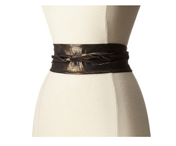 ADA Collection Obi Tie belt black- blaque colour 2020