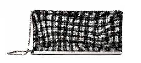 Adrianna Papell Nancy classy blaque clutches 2019 What To Wear- blaque colour
