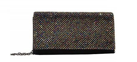 Jessica McClintock Luisa classy blaque Tie clutches 2020 What To Wear- blaque colour