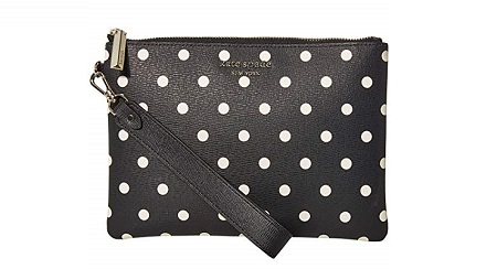 Kate Spade Spencer Cabana classy blaque Tie clutches 2020 What To Wear- blaque colour