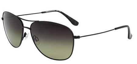 Maui Jim Cliff House black sunglasses- blaque colour