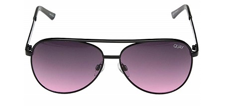 Quay Australia Vivienne Mini classy blaque sunglasses 2020- blaque colour