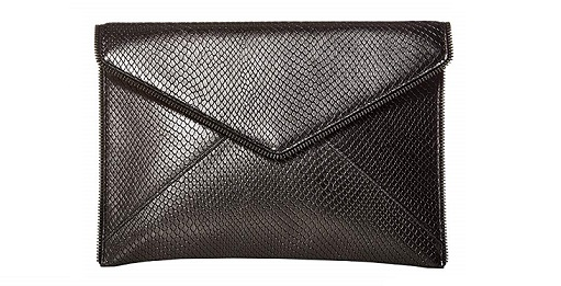 Rebecca Minkoff Leo Studs classy blaque Tie clutches 2019 WHat To Wear- blaque colour
