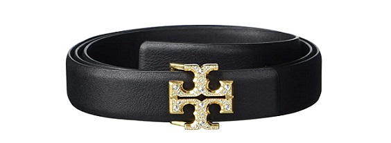 Tory Burch 1 Jeweled classy blaque Tie belts 2020 BLAQUE COLOUR