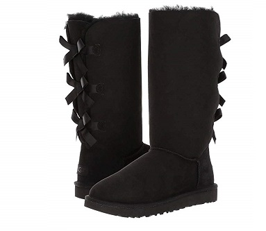Blaque Colour Boots Winter Black True Style Taste